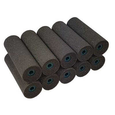 CQ Rollaboy Mini Roller Superfine Foam Concave Ends 10 pack
