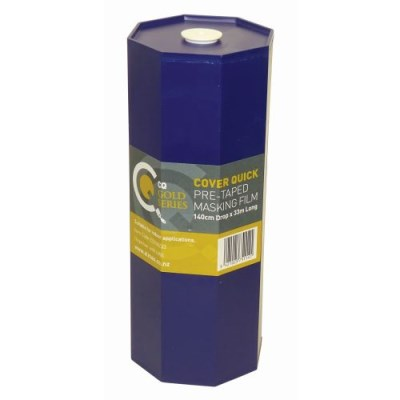 CQ Pre-Taped Masking Film Dispenser c/w refill 140cm