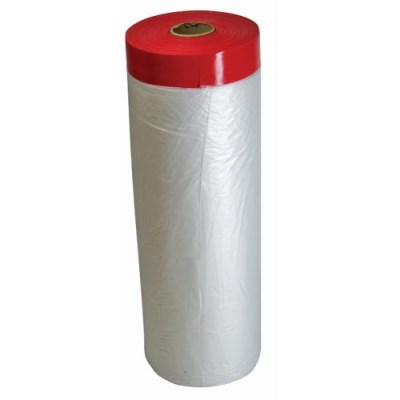 CQ UV Pre-Taped Masking Film Refill 140cm x 25m