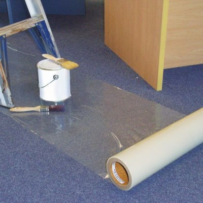 CQ Carpet Protection Film 1m x 100m x 50 micron
