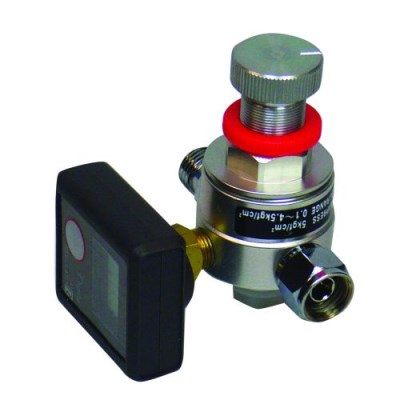 Air Pressure Regulator & Digital Gauge