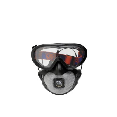 Filterspec Pro Goggle/Mask Combo with  P2 carbon filter mask