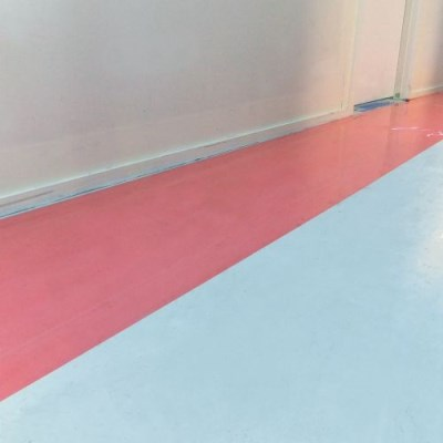 CQ Hard Surface Protection Film Red 1m x 100m x 50 micron