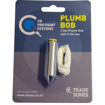 CQ Plumb Bob 2.5oz with 2.5 metre Line