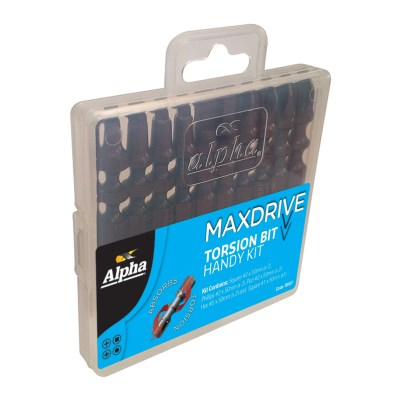Alpha MAXdrive Torsion Bit Kit