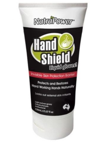 NatraPower HandShield Liquid Gloves 150ml tube