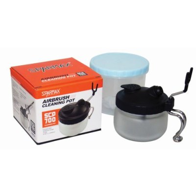 Sparmax Air Brush Cleaning Pot