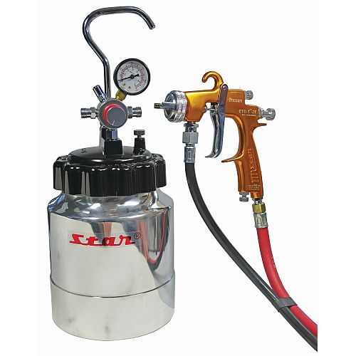 Star PP-2500 Pressure Pot Kit 2.5 litre inc EVO-T gun 1.8mm
