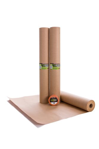 OvaBoard Reinforced Kraft Temporary Floor Protection