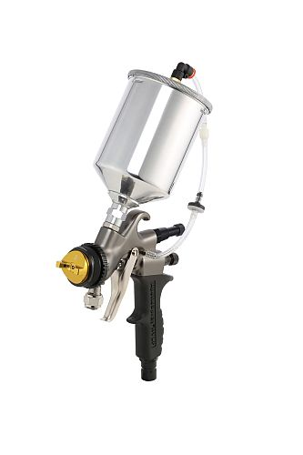 Apollo Turbine HVLP Spray Gun with 600cc gravity cup