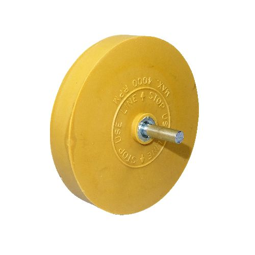 Eraser Wheel with plain spindle