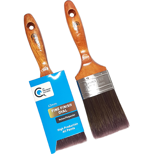 CQ  Fine Finish Paint Brush Oval 50mm