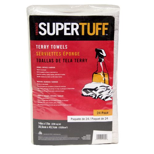 Super Tuff Terry Towels pack of 24