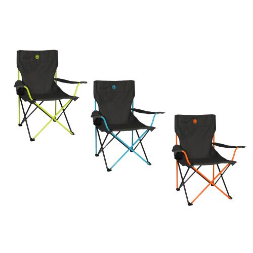 Coleman Compact Coloured Quad Chair
