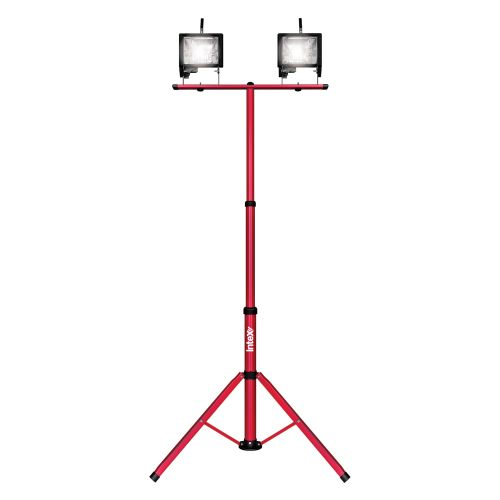 Intex 2 x 500 Watt Portable Light with Telescopic Stand