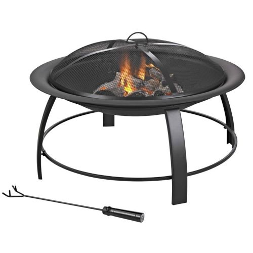Firepit Round Steel 760mm