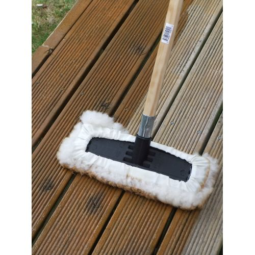 cq  swish lambswool floor applicator