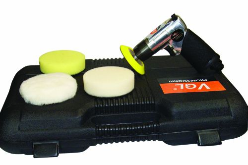Air Sander & Polisher Kit 80mm 2 speed