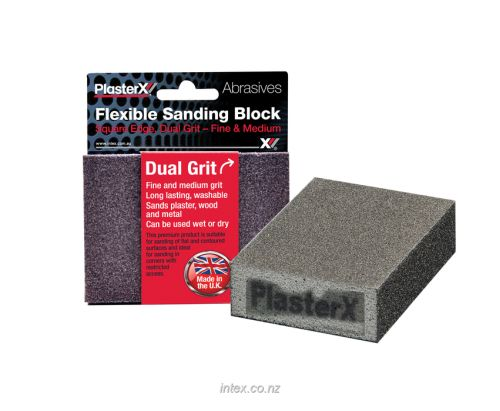 Intex Flexible Foam Sanding Block Medium/Fine Grit