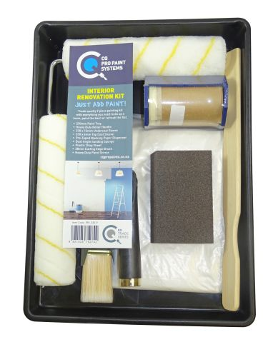 CQ  Interior Renovation Painting Kit (9 Pieces)