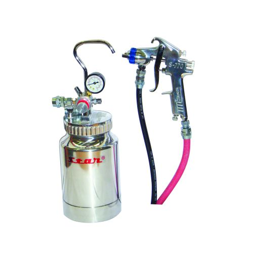 Star PP-2000 Pressure Pot Kit inc S-770 spray gun 1.5mm