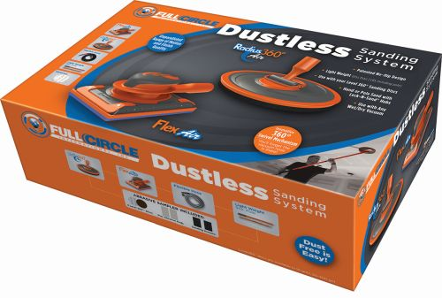 Full Circle Dustless Sanding System with Radius 360 Air and