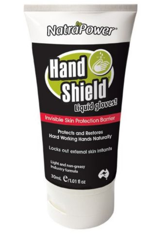 NatraPower HandShield Liquid Gloves 30ml tube